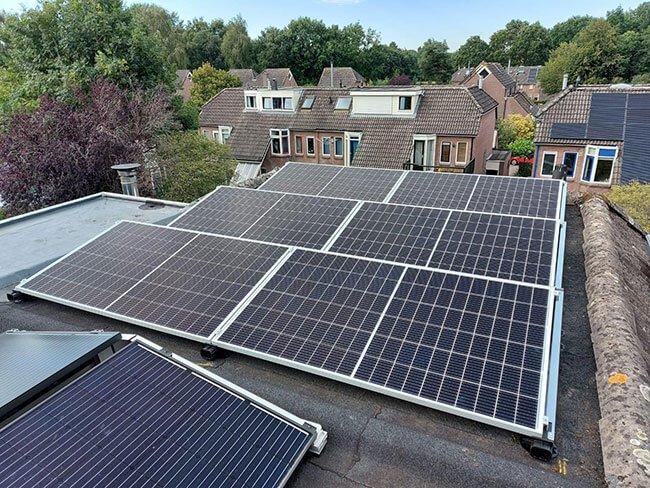 Subsidie Joure voor zonnepanelen
