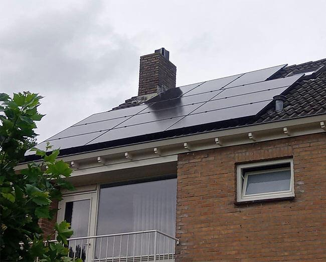terugverdientijd zonnepanelen Zuidhorn