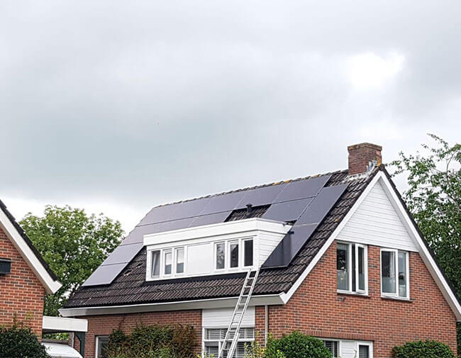 zonnepanelen in Joure