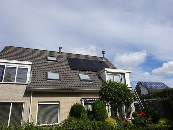 zonnepanelen in Tynaarlo op dak