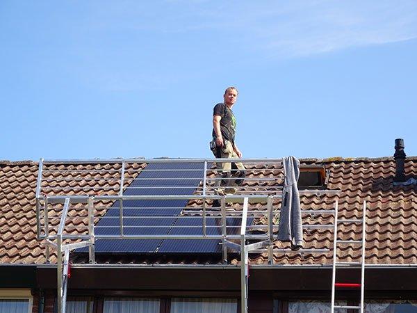 installateur van zonnepanelen in emmen