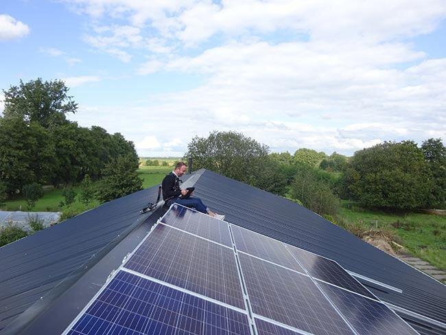 footprint milieu verkleinen zonnepanelen
