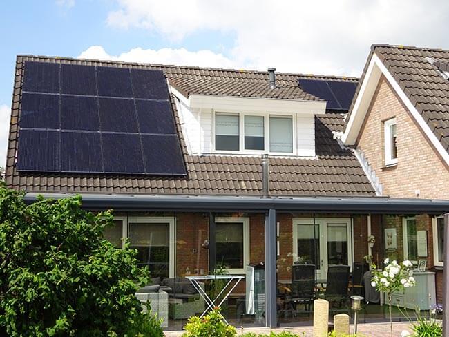 zonnepanelen in zuidlaren
