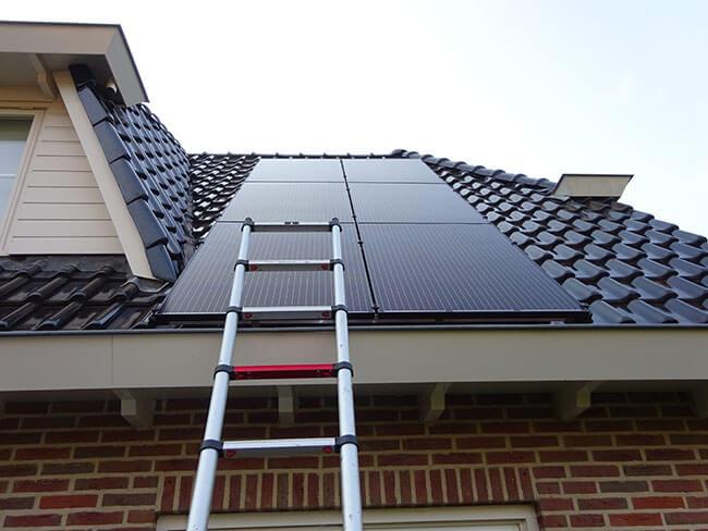 Zonnepanelen installatie in Annen