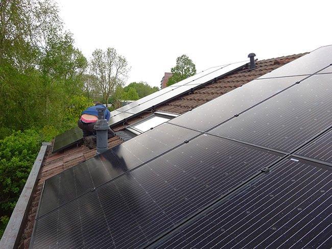 zonnepanelen installatie in assen
