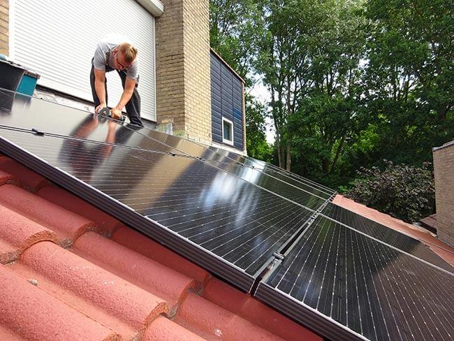 installatie van zonnepanelen in Stadskanaal