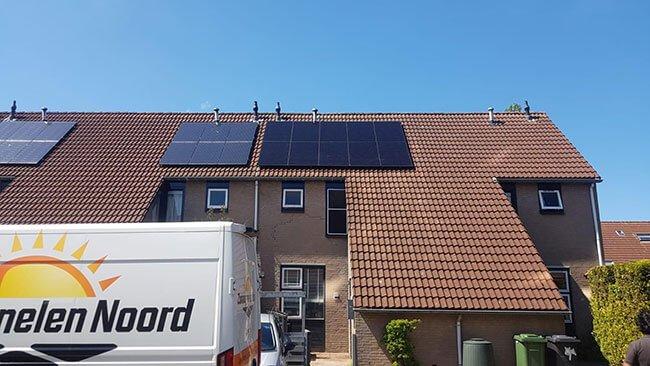 Friesland terugverdientijd zonnepanelen