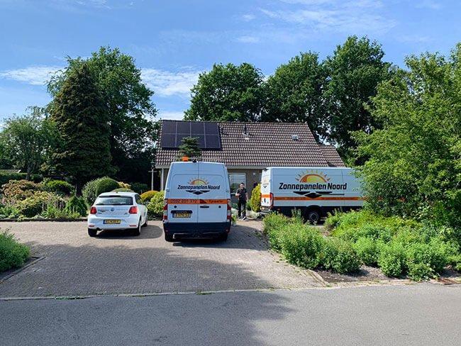 zonnepanelen Friesland