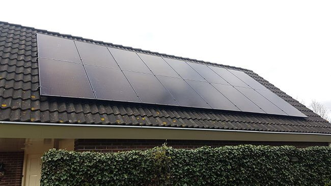 zonnepanelen in Eelde