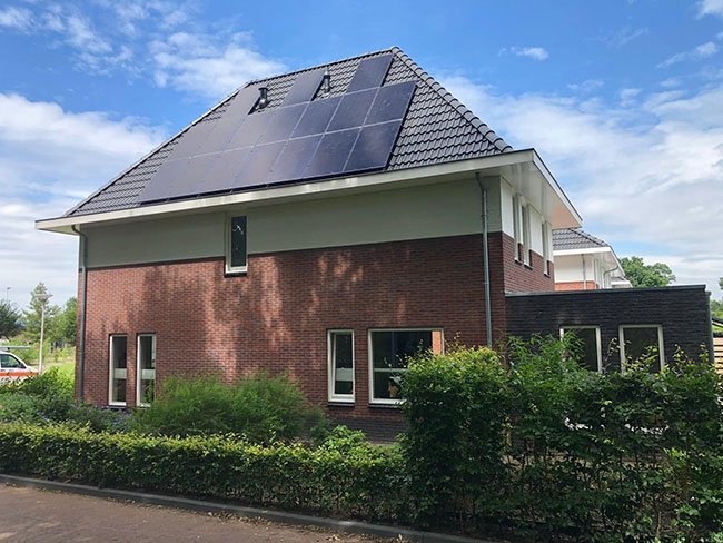 plaatsing zonnepanelen in Gieten