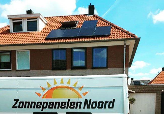 zonnepanelen installatie Gieten