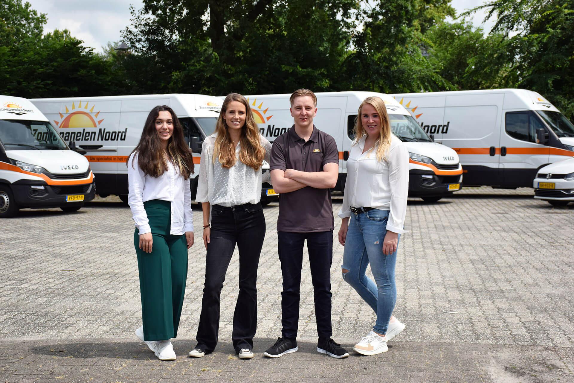 Office team van Zonnepanelen Noord